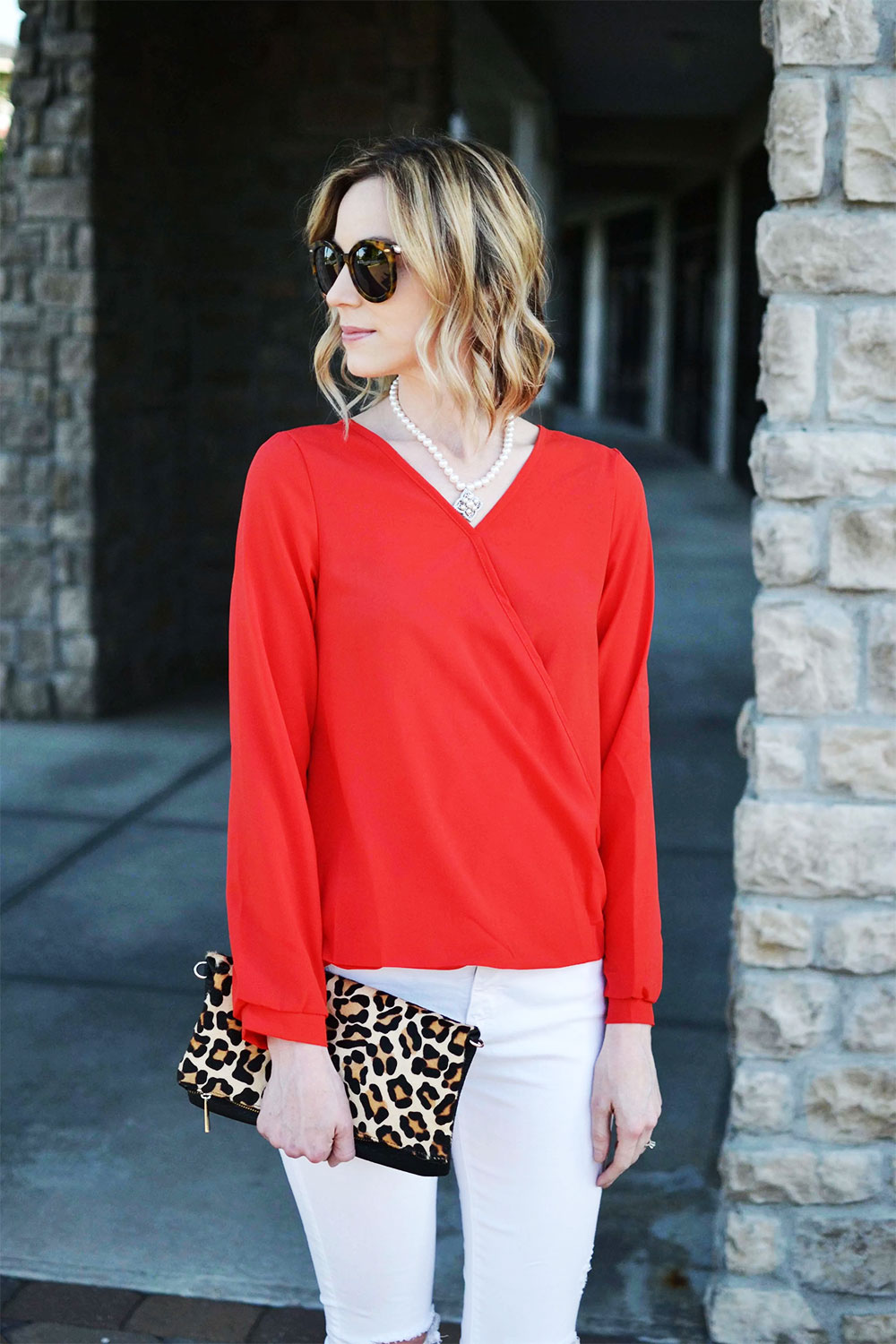red and white outfit ideas