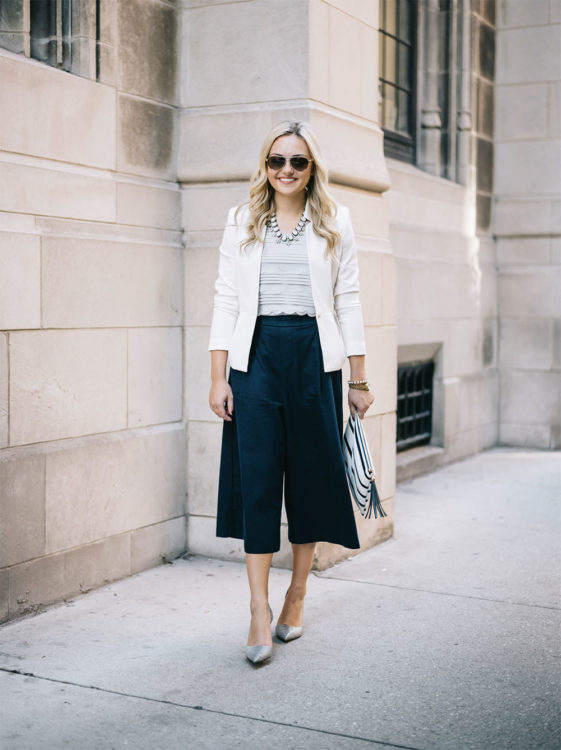 wide leg outfit