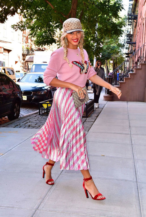 Beyonce Pink Outfit Ideas