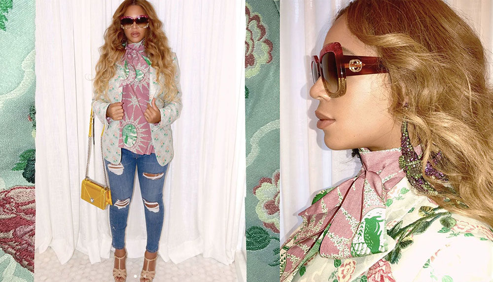 Beyonce Earrings Outfit Ideas