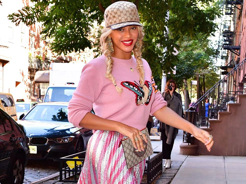 beyonje pink outfits