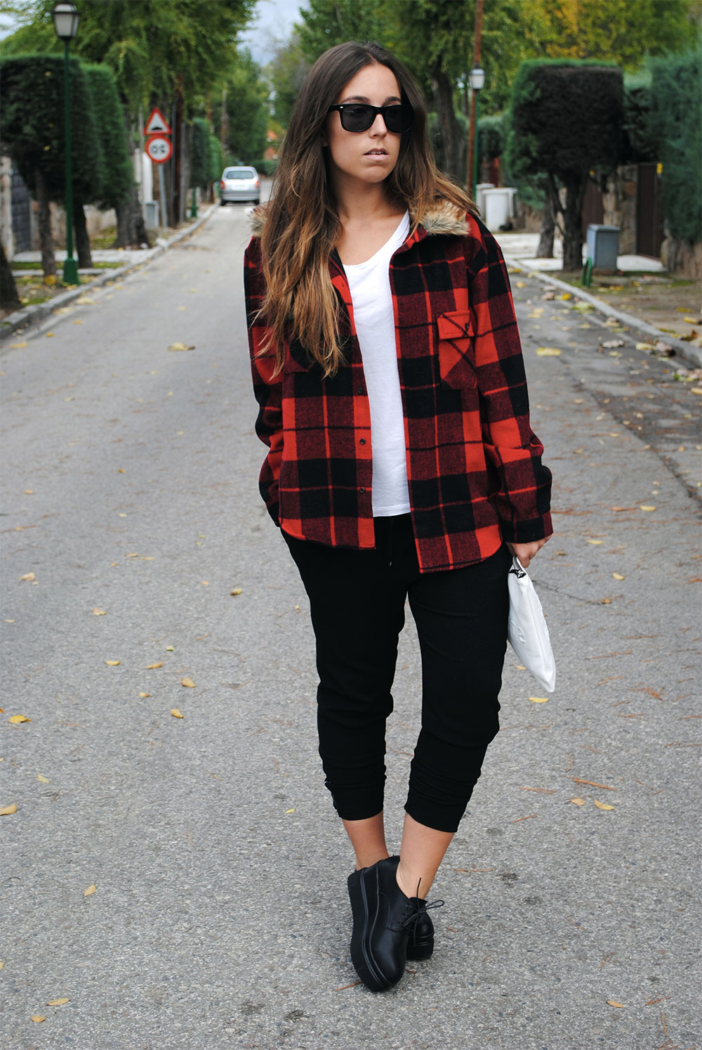 checkered shirt outfit