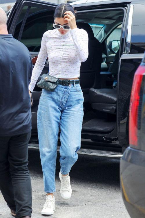 Kendall Jenner Boyfriend Jeans