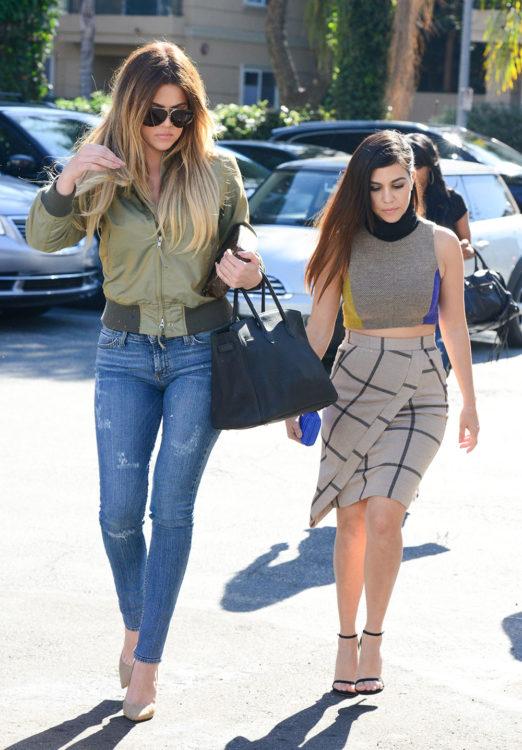 Khloe Kardashian Bomber Jacket
