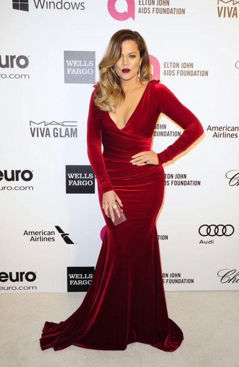 Khloe Kardashian Red Velvet