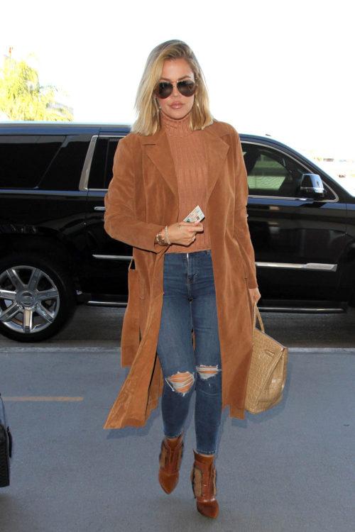 Khloe Kardashian Turtleneck