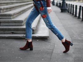 red boots outfit