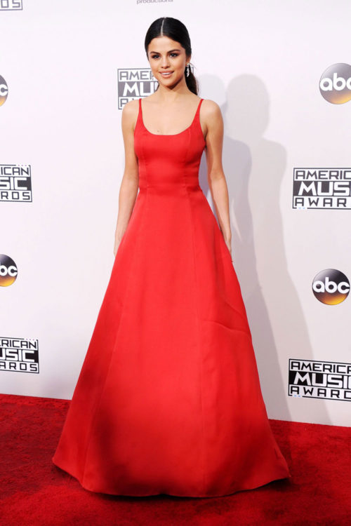 Selena Gomez Red Dress