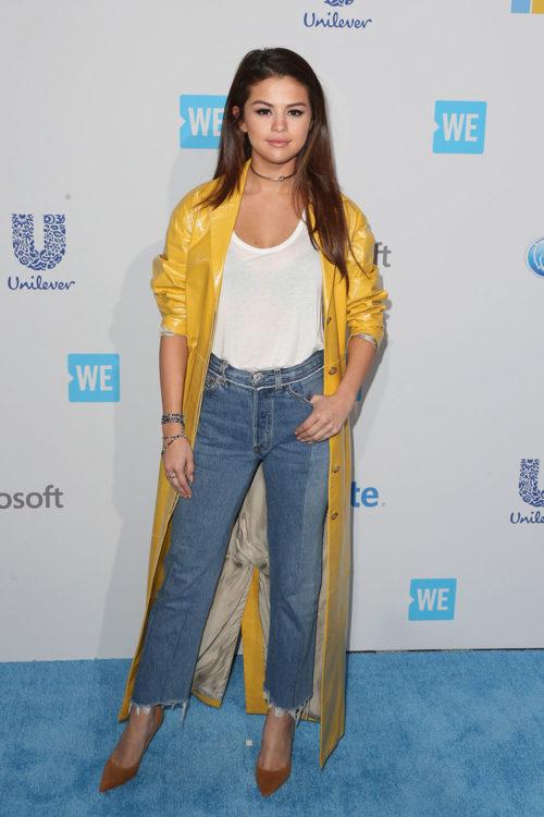 Selena Gomez White Tee