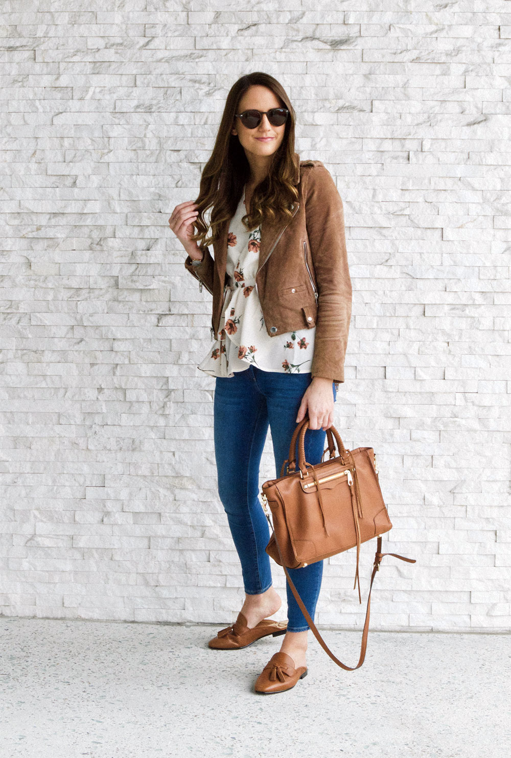 brown jacket outfit