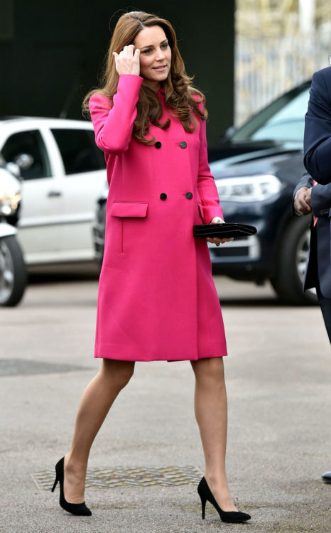 kate middleton pink dress outfit